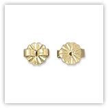 Gold Filled 14504- paire de poussoirs arrière d'oreilles