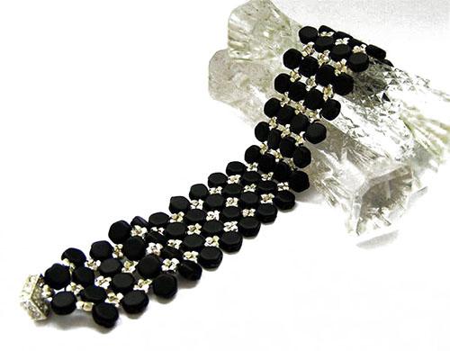 bracelet perles honeycomb