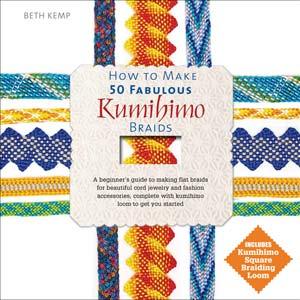 "Livre ""HOW TO MAKE 50 FABULOUS KUMIHIMO""*"
