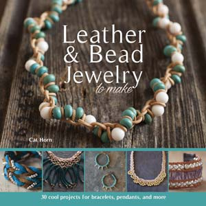 """Livre """"LEATHER & BEAD JEWELRY TO MAKE CAT HORN""""*"""