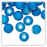 Perles Acryliques 10 mm Néon - Bleu