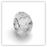 perles pour bracelet à facettes - Crystal