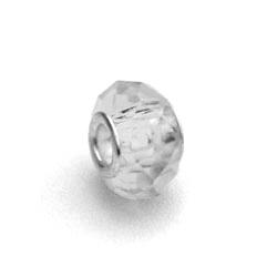 perles pour bracelet � facettes - Crystal