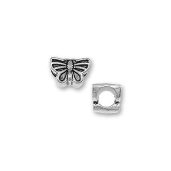 perles pour bracelet - 224 papillon x10