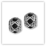 perles pour bracelet - 227 strass noir