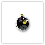 Passant pour 8mm - oiseau noir P007