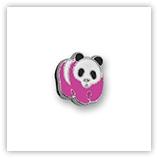 Passant pour 8mm - Panda Rose P175