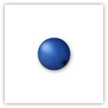 Perle Polaris Sapphire 10 mm