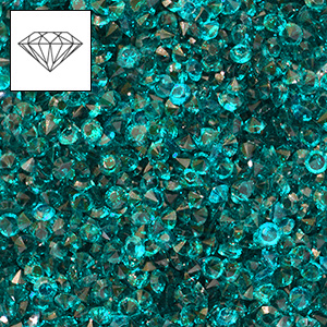 Mini-diamants pour r�sille tubulaire - BlueZircon x4g