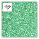 Mini-diamants pour résille tubulaire - Peridot x4g