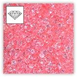 Mini-diamants pour résille tubulaire - Rose x4g