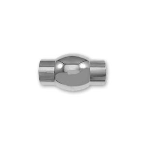 Fermoir aimant� INOX 19x11 pour 6mm