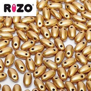 Rizo 2,5x6 mm Aztec Gold - 00030-01710 x10g