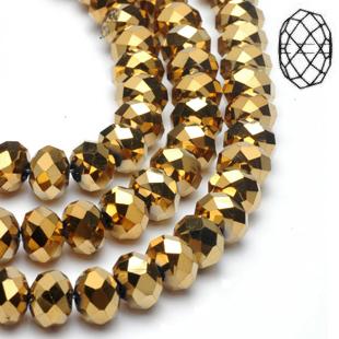 Rondes aplaties 04mm Gold
