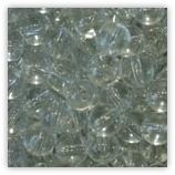 Perles verre 06mm Cristal