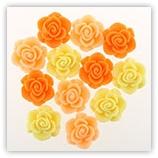 Roses 16 mm - Orange