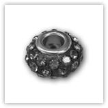 perles pour bracelet 36 strass - BlackDiamond