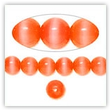 Oeil de chat 4mm Orange